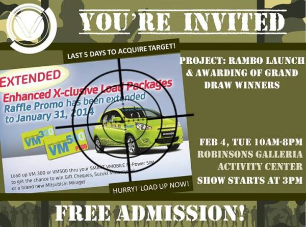 Project Rambo Launch